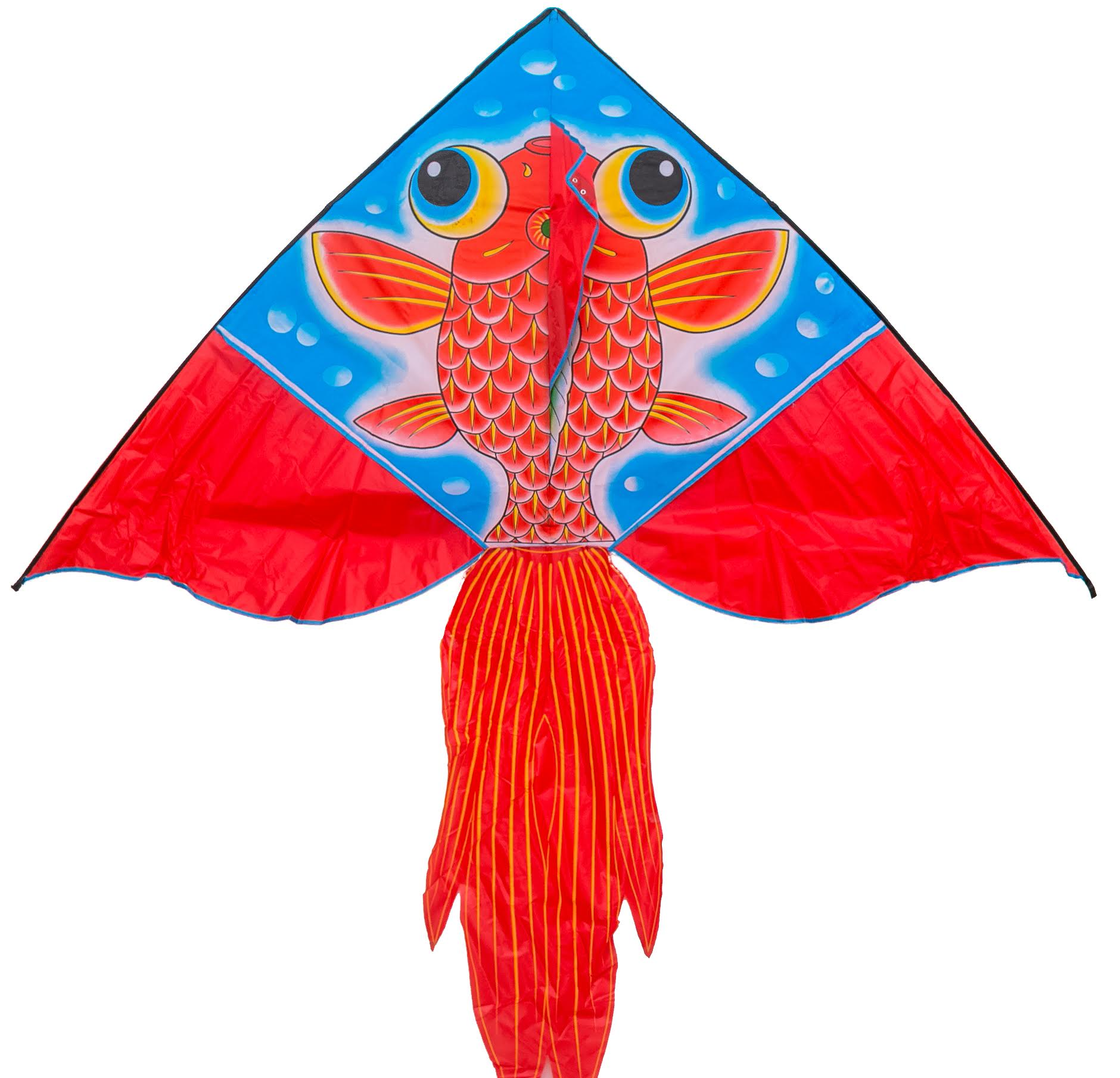 Red fish designer kite - Single line kite - FLY360 kite store